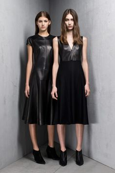 valery kaufman and marine deleeuw for narciso rodriguez pre-fall 2013 |