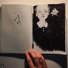Beautiful pen drawing by Marco Mazzoni