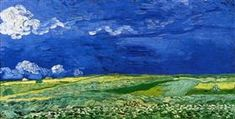 Wheatfields under Thunderclouds - Vincent van Gogh