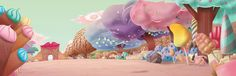 Some of the work I do last year. Background for mexican animation movie. Will display in theaters this year.