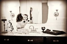 My Daughter's 2 year old photo session...classic image taken by Jeannine Neale.