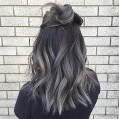 Janet Nguyen • @loveisinthehair_byjanet . REPOST ・ ・ Rock your roots! Again all done with fanola!  Roots 5.1  Mid-ends 9.11 + silver Argento + blue