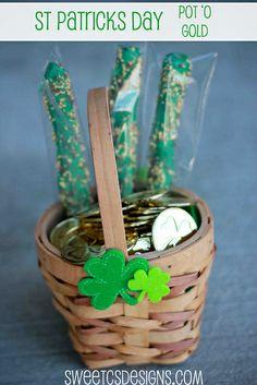 St Patricks Pot 'o Gold- easy treat for little ones!