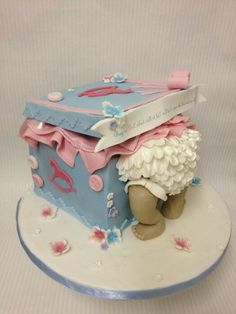 Baby shower cake #http://www.timelesstreasure.theaspenshops.com/product/baby-shower-cakes.html