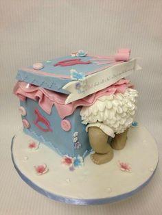 www.facebook.com/cakecoachonline - sharing...Baby shower cake #http://www.timelesstreasure.theaspenshops.com/product/baby-shower-cakes.html