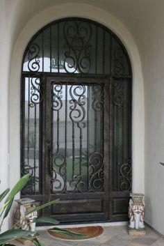 iron doors | DESIGN OPTIONS GARAGE DOORS CUSTOM GARAGE DOORS PHOTO GALLERY BEFORE ...