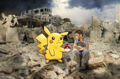 Aktivis dan seniman di Suriah memanfaatkan demam permainan Pokemon Go untuk berkampanye. Mereka meminjam citra Pokemon Go guna menarik atensi publik terhadap dampak perang Suriah.