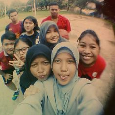 #late post do sports in the morning with my friends