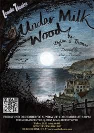 Under Milk Wood Illustration by Emily Wallis Aqa English Literature, Songs Of Innocence, Play Poster, Spanish Armada, Dylan Thomas, Beloved Book, Collagraph, Vintage Book Covers, Beautiful Book Covers