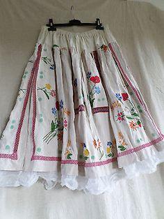 Chouette-jupe-034-En-heritage-034-linge-ancien-lin-magnolia-coton-pearl