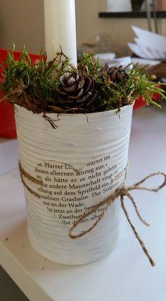 Konservendose Blumentopf
