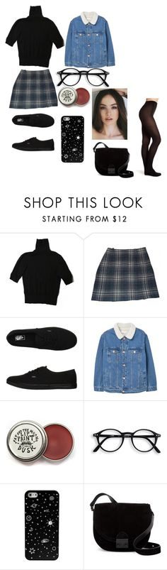 """""""Untitled #154"""" by fetchlove ❤ liked on Polyvore featuring H&M, Cacharel, Vans, MANGO, Loeffler Randall and Topshop"""