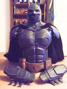 "Complete 3D printed Arkham Origins Batman suit  Super heroes like batman, superman, spider man, The Hulk, and many more are the heroes who got inspired by many people all over the world. Some people just enjoy the movie or read the comic book, let it go while they come out. But for some people they really want to be like those super heroes and to be frank not just the kids wanted to wear those super heroes dress even adult people want to wear but it's for different purposes ""Cosplay""."