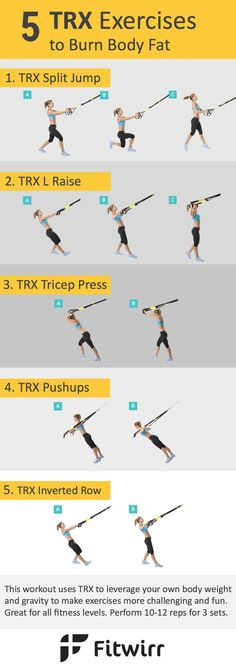 Full-Body Workout With TRX