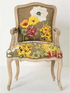 Decorative chairs for head table or sweetheart tables :) too cutes!