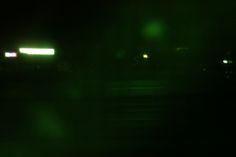 """Rule #1: never expect anything from anybody."" #photography #blurry #light #green #night #dark  #ahsheegrek"