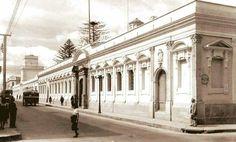 Antigua facultad de Derecho, hoy museo de La Universidad de San Carlos. Guatemala city.