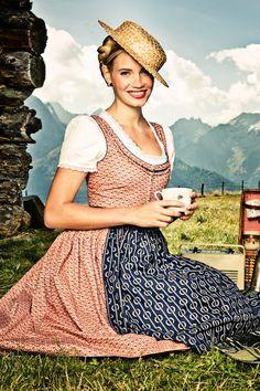 DIRNDL ANNE - Lena Hoschek Dirndl Spring Summer 2014 - Lena Hoschek Tradition