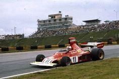 f1 1975 Brazil-Ferrari 312B3 - Clay Regazzoni