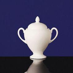 Wedgwood White Sugar Bowl