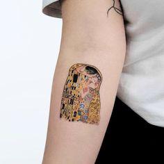 Artistic inspiration - Hakan Adik Tattoo artist Hakan Adik, authors style color and black watercolor minimalistic tattoo Kiss Tattoos, X Tattoo, Piercing Tattoo, Color Tattoo, Tattoo Drawings, Art Inspired Tattoos, Modern Art Tattoos, David Tattoo, Simple Line Tattoo