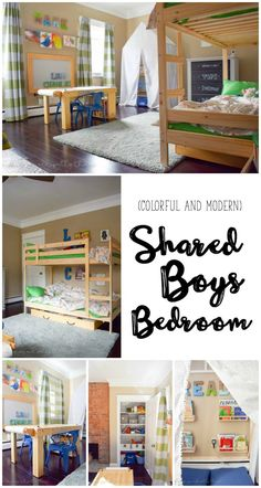 Shared Boys Bedroom
