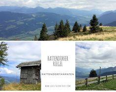 wunderschöner Aussichtspunkt und Natur pur: Rattendorfer Riegel, Gailtal
