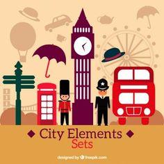 Elementos de ciudad Londinense