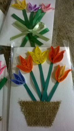 biglietti augurali su carta fatta a mano decorazione artistica in quilling- MUSEO CARTA MELE
