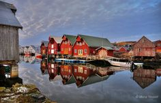 The village Bud in Norway. by nesset