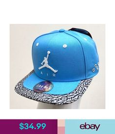a765373c191114 Hats Jordan Jumpman Air Strapback University Blue White -642093 412-  ebay   Fashion