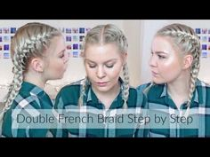 Magnificent Double Reverse French Braid Hair Tutorial Inspired By Iggy Azalea Hairstyles For Women Draintrainus