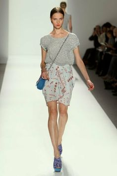 pencil skirts outfits girls in new york city | ... - Spring 2010 - Mercedes Benz Fashion Week New York | My It Things