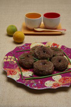 Schami: ciambelline iraniane di carne e farina di ceci