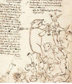 The wonderful world of medieval manuscripts (BL, Sloane 748 f. 82v)