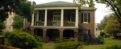 Gorgas House- Oldest Civil War House standing on UofA campus--where we wed after grad school.