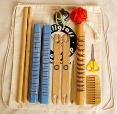 Magic Heddle Frame Loom Weaving Kit by TallGrassWorkshop on Etsy