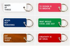 love--customizable key rings