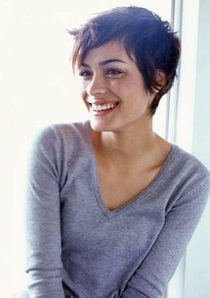 Pixie Cut, actress Shannyn Sossamon - She is my ultimate pixie cut inspiration.