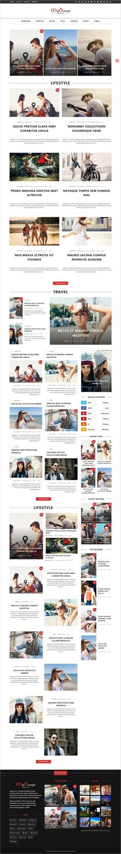 Mydaugh is a flat and super flexible responsive 5in1 #WordPress theme for #blog, #magazine or news website download now➩ https://themeforest.net/item/mydaugh-a-wordpress-blog-magazine-theme/18701763?ref=Datasata