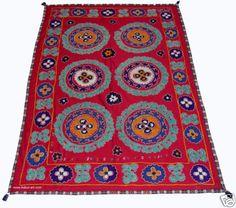 antik orient wandbehang Suzani Decke Tuch Usbek decorative tribal textile SZ-28