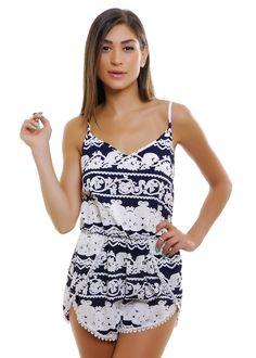 Sweet Life Crochet Romper | Shop for it on www.flavour86.com