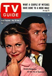 TV Guide Cover...the TV show Bewitched ...a great classic show
