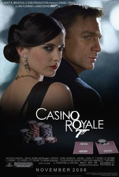 Casino Royale - how can I forget James Bond Oo James Bond Casino Royale, Casino Royale Movie, Casino Movie, James Bond Movie Posters, James Bond Movies, Cinema Posters, Casino Night Party, Casino Theme Parties, Au Hasard Balthazar