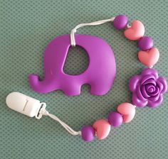 Hey, I found this really awesome Etsy listing at https://www.etsy.com/ca/listing/463852340/purple-flower-baby-elephant-teether-with