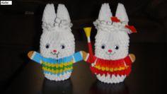 origami easter bunny - Google keresés