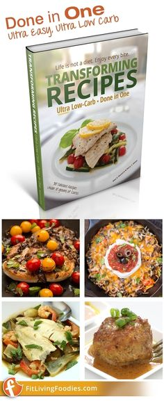 30 Ultra-Low Carb meals made in one cooking device - Keto, Paleo-friendly… Make Ahead Meals, Meals For One, Ultra Low Carb Recipes, Carb Nite, Paleo, Keto, Mushroom Chicken, Diabetes, Foodies