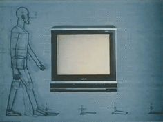 Televisions seemed like a portal into the future. | 22 Reasons Why Design Was More Awesome In The '80s
