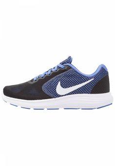 separation shoes af37b 4cacb Nike Performance. REVOLUTION 3 - Laufschuh Neutral - black white light  medium blue