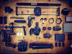 """263 Gostos, 2 Comentários - What's In Your Video Bag? (@myvideobag) no Instagram: """"Follow @thejefferiesbrothers ・・・ The gear for your next project #whatsinmybag #myvideobag…"""""""